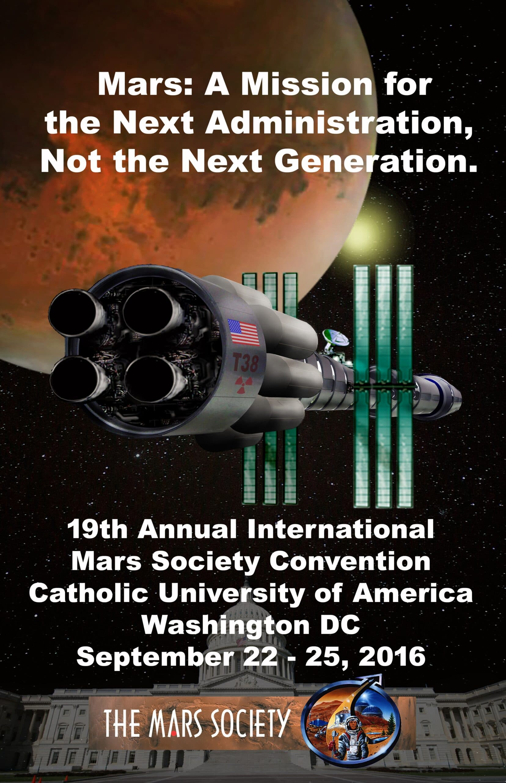 Poster Winner - The 19th Annual International Mars Society Convention