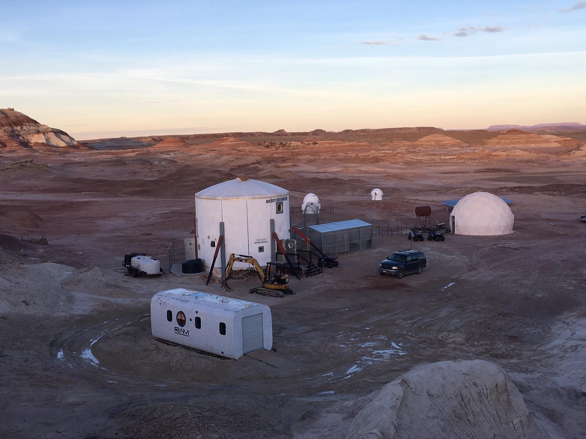 New Engineering Module Added To Mars Simulation Station In Utah