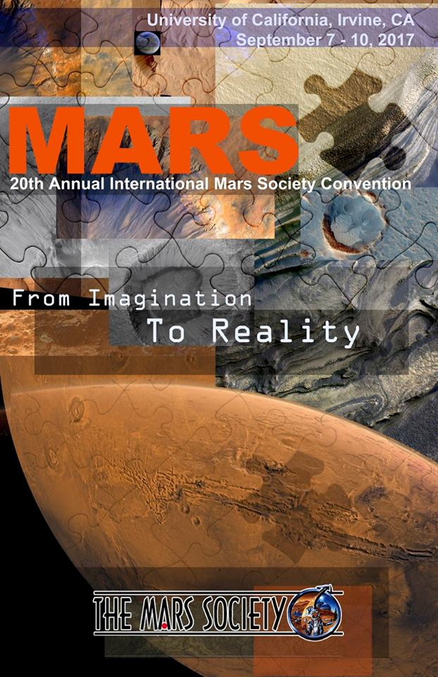 Poster Winner - The 20th Annual International Mars Society Convention