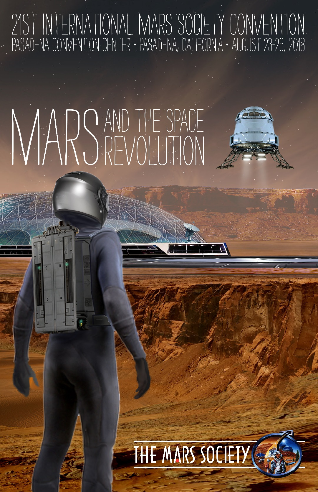 Poster Winner - The 21st Annual International Mars Society Convention