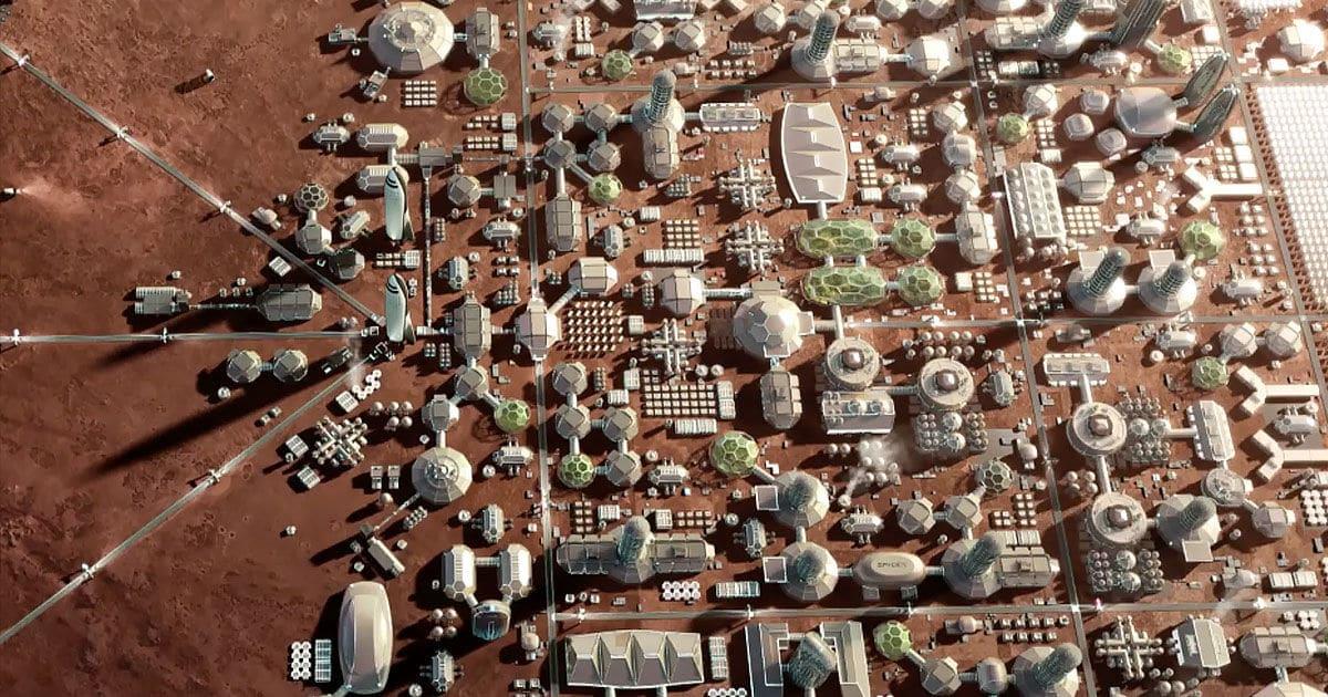 Mars City State