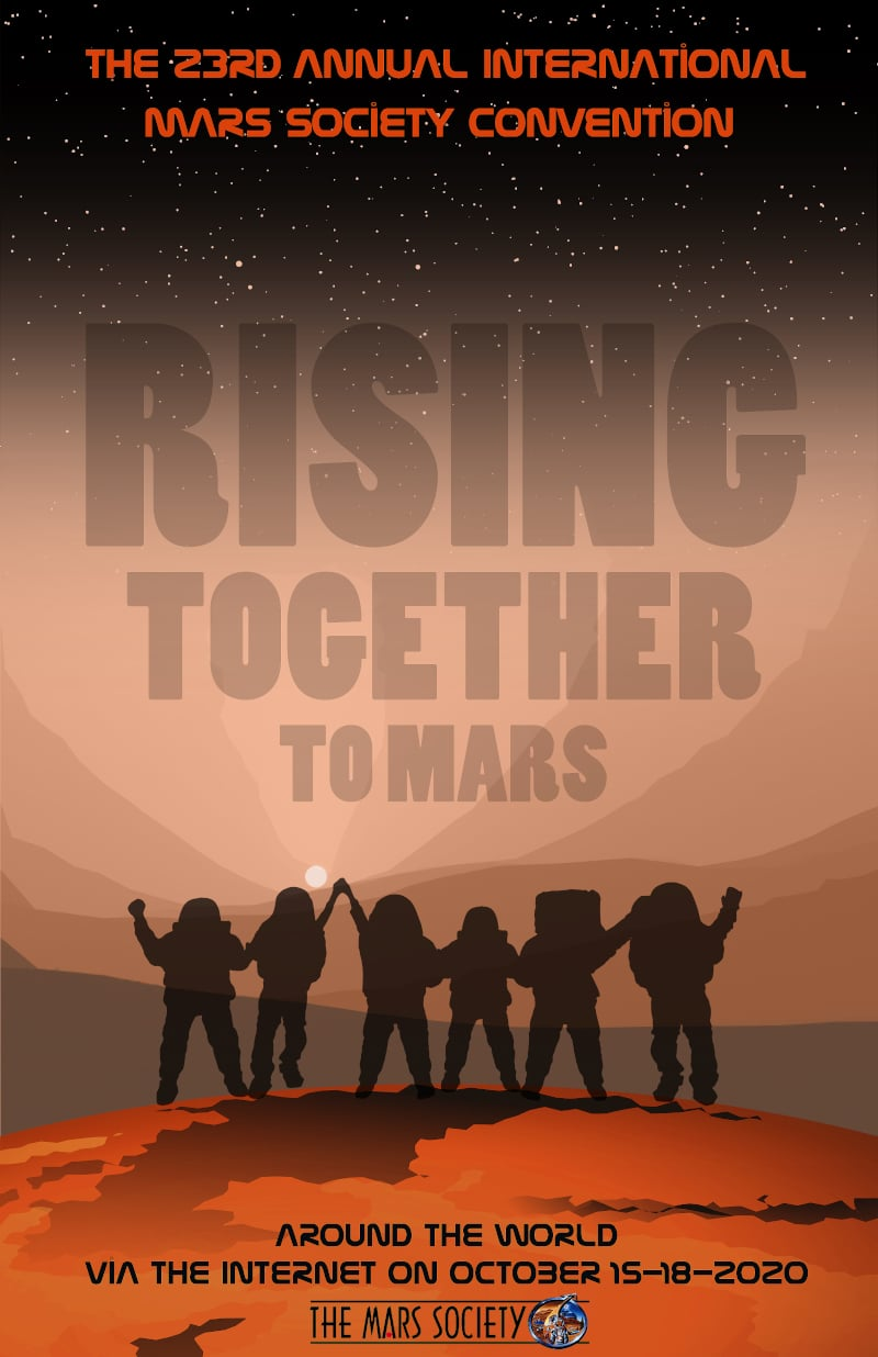 Poster Winner - The 23rd Annual International Mars Society Convention